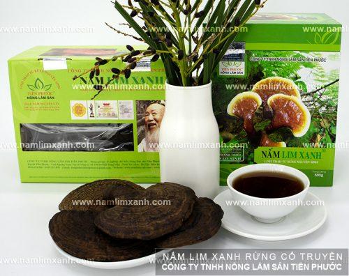 Giá nấm lim xanh Công ty Tiên Phước được niêm yết công khai