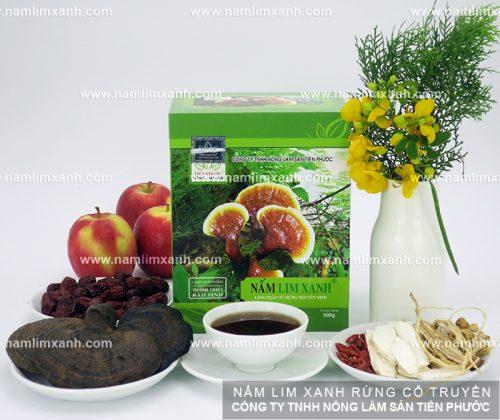 Nấm lim xanh của Công ty TNHH Nông lâm sản Tiên Phước luôn đảm bảo cả về chất lượng và giá cả