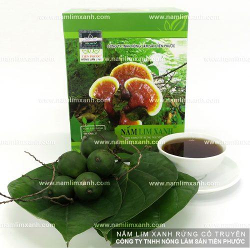 Sản phẩm nấm lim xanh chính hãng của Công ty TNHH Nông lâm sản Tiên Phước