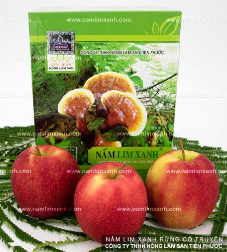Sản phẩm nấm lim xanh chính hãng được bán tại đại lý ở Cà Mau của Công ty TNHH Nông lâm sản Tiên Phước