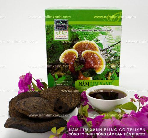 Sản phẩm nấm lim xanh của Công ty nấm lim xanh Quảng Nam được nhiều người dùng tin tưởng