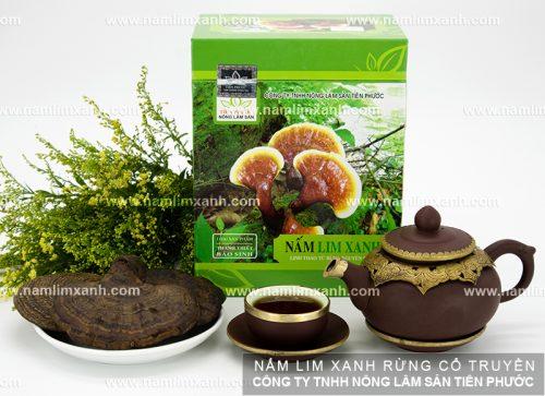 Sản phẩm nấm lim xanh Quảng Nam có tác dụng tốt cho sức khỏe