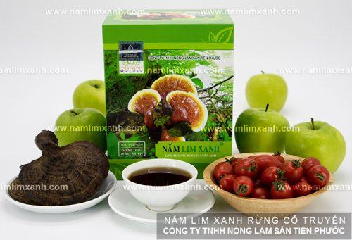 Sản phẩm nấm lim xanh Tiên Phước chính hãng của Công ty TNHH Nông lâm sản Tiên Phước