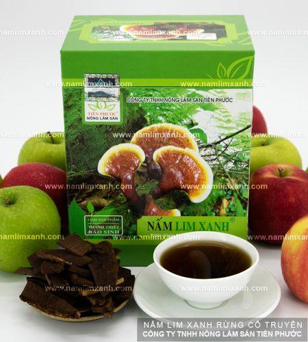 Sản phẩm nấm lim xanh Tiên Phước được phân phối độc quyền tại đại lý ở Hà Tĩnh