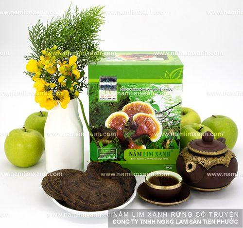 Bảo quản sản phẩm nấm lim xanh của công ty Tiên Phước hết sức đơn giản