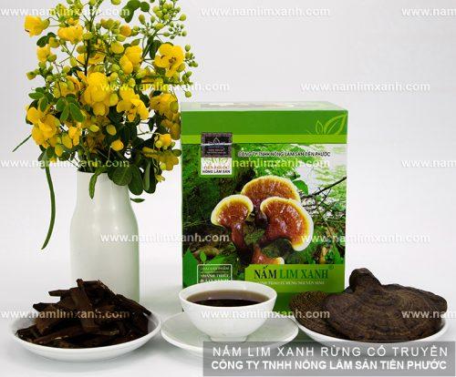 Cách ngâm nấm lim rừng tự nhiên Tiên Phước