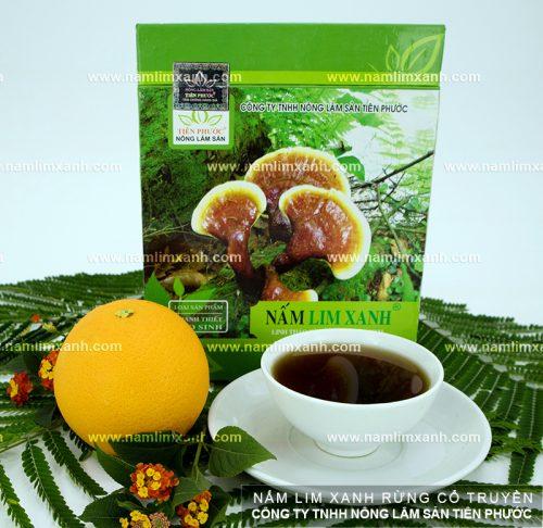 Cách sử dụng nấm lim xanh rừng Tiên Phước