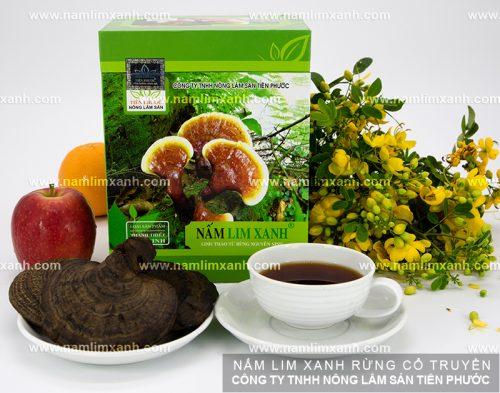 Địa chỉ bán nấm lim xanh rừng uy tín tại công ty TNHH Nông lâm sản Tiên Phước