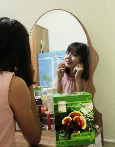 Giá nấm lim xanh Tiên Phước được niêm yết cố định đến tay người tiêu dùng.