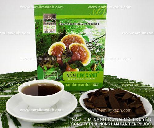 Giá của nấm lim xanh rừng ở Công ty TNHH Nông lâm sản Tiên Phước