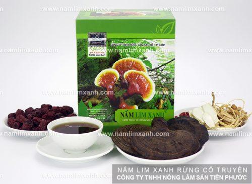 Giá nấm lim xanh rừng tự nhiên tại Đà Nẵng của Công ty TNHH Nông - Lâm - Sản Tiên Phước