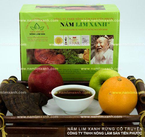 Nấm lim xanh rừng tự nhiên Đà Nẵng được bán với giá niêm yết trên cả nước
