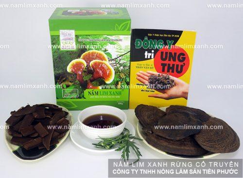 Nấm linh xanh rừng tự nhiên củaCông ty TNHH Nông lâm sản Tiên Phước
