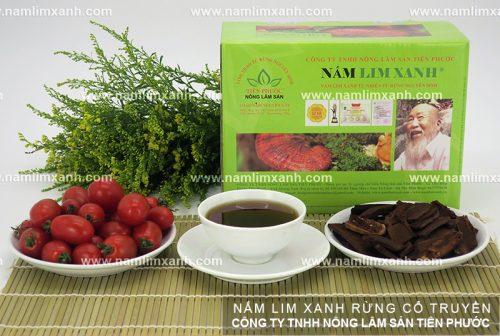 Sản phẩm nấm lim xanh của công ty TNHH Nông lâm sản Tiên Phước luôn đảm bảo những yêu cầu về chất lượng