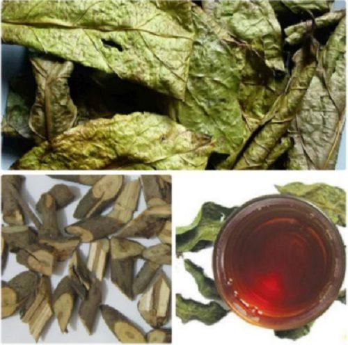 Thành phần của trà tam thất và xạ đen