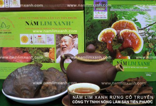 Sản phẩm nấm lim xanh Tiên Phước được nhiều khách hàng tin tưởng và sử dụng