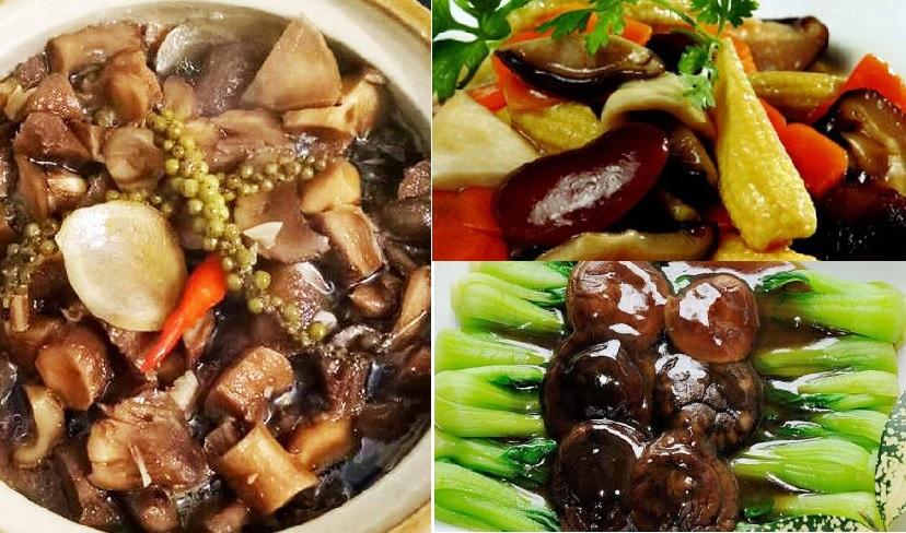 Các món ăn từ nấm đông cô và cách nấu nấm đông cô bồi bổ sức khoẻ