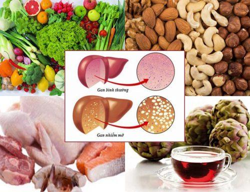 Cách điều trị gan nhiễm mỡ bằng chế độ ăn uống dinh dưỡng hàng ngày
