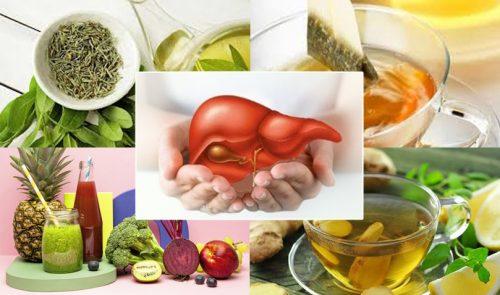 Cách giải độc gan tại nhà với cách giải độc gan đơn giản dễ thực hiện